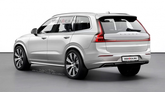 Volvo is preparing to release the XC100